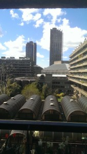 1970s high rise at the Barbican