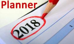 2018 annual planner