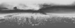 Background cityscape greyscale no other effects