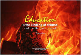 Education lights the flame