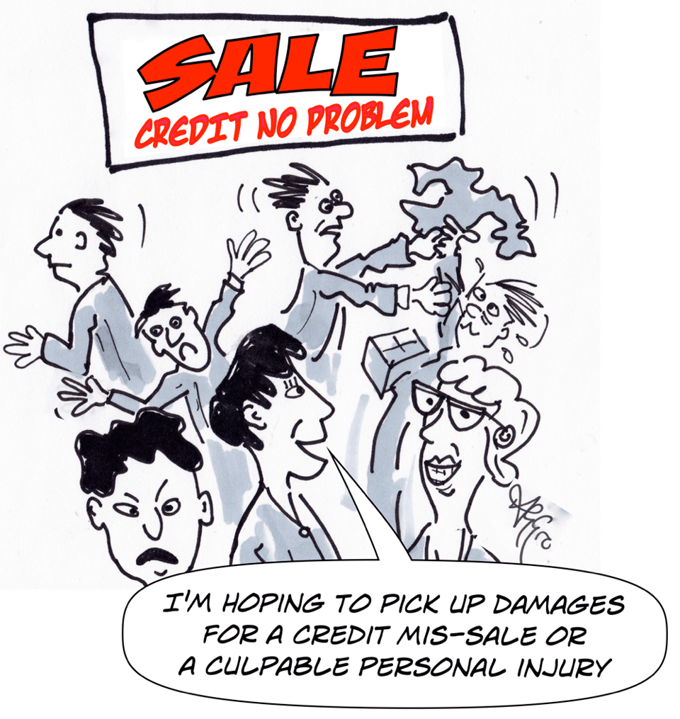 cartoon AGGro sale fever damages personal injury