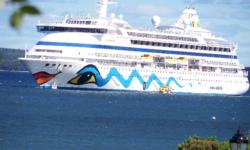 Cruise ship Aida aura