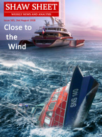Cover Page 165 Close to the Wind