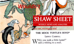 Cover Page Issue 166 Lewis Carroll's Mock Turtle's Song