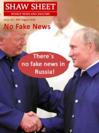 Cover Page 167 Trump and Putin Shake hands at conference