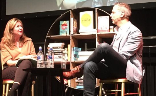 Issue 174: 2018 10 18: Chef Yotam Ottolenghi At the Wimbledon Bookfest