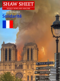 Cover Page 198 Notre Dame cathedral burning