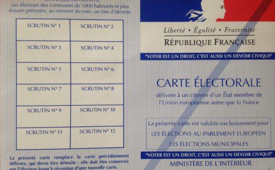 Issue 204: 2019 05 30: French EU Elections Qui a gagné? Qui a perdu?