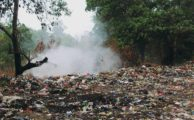 Unrecycled rubbish.