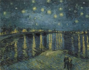 Starry Night over the Rhone, 1888, Musee d'Orsay, Paris, France